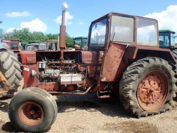 salg af Volvo 800 traktor