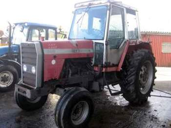 salg af Massey Ferguson 698 traktor