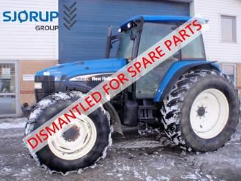 salg af New Holland TM 140 traktor