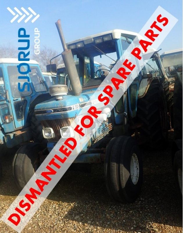 Ford 7810 tractor - Dismantled tractors Secondhand Parts
