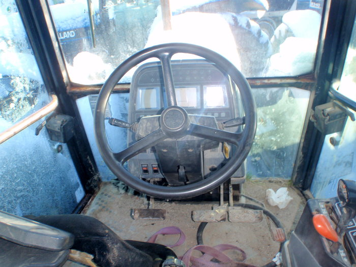 Ford 7840 tractor - Dismantled tractors Secondhand Parts