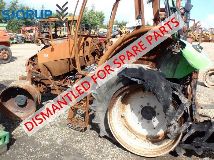 deutz fahr 630 tt traktor zerlegten traktoren gebrauchte. Black Bedroom Furniture Sets. Home Design Ideas
