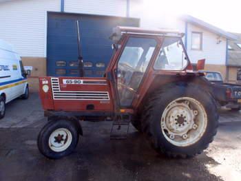 salg af Fiat 65-90 traktor