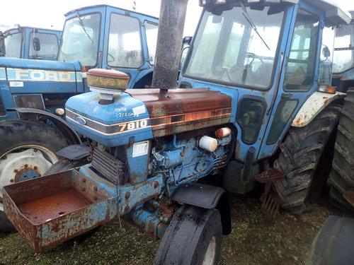 salg af Ford 7810 traktor