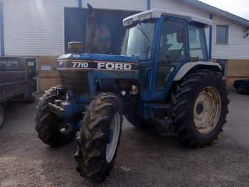 salg af Ford 7710 FII traktor