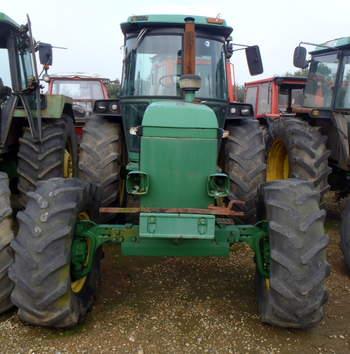 salg af John Deere 4040 traktor