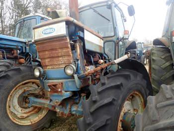 salg af Ford 7710 traktor