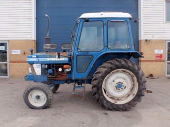 salg af Ford 5610 traktor