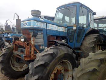 salg af Ford 7710 DT traktor