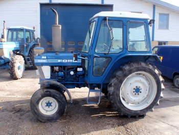 salg af Ford 6610 traktor