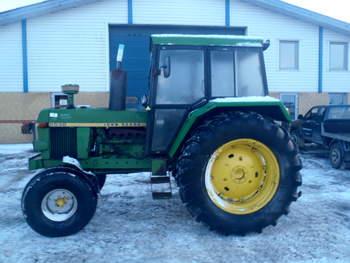 salg af John Deere 3030 traktor