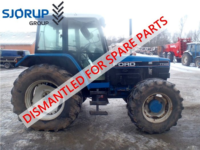 Ford 7740 tractor - Dismantled tractors Secondhand Parts - Sales Ford -  Sjorup Group - Worldwide ExportSjørup Group