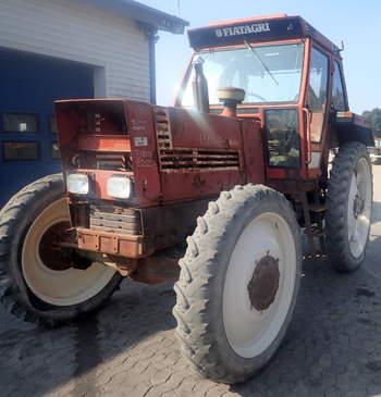 salg af Fiat 1380 DT traktor