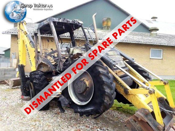New Holland LB115 SS Backhoe - Construction equipment