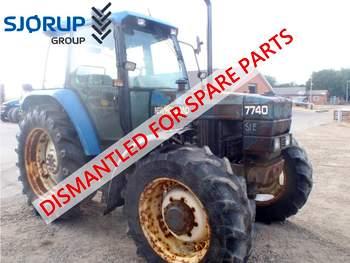 salg af New Holland 7740 traktor