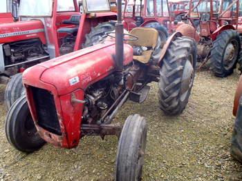 salg af Massey Ferguson 35 traktor