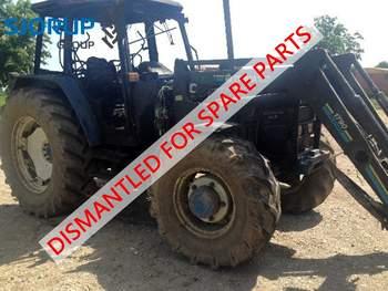 salg af New Holland 7840 SLE traktor