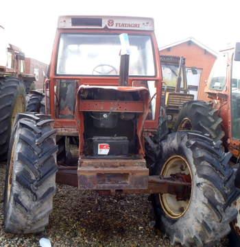 salg af Fiat 90-90 traktor
