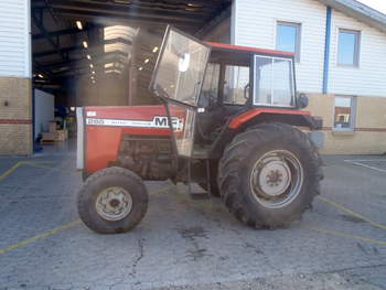 salg af Massey Ferguson 178 traktor