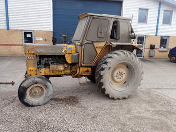 salg af Volvo 650 traktor