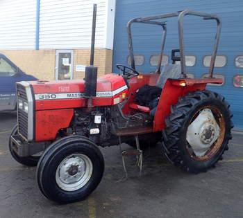 salg af Massey Ferguson 350 traktor