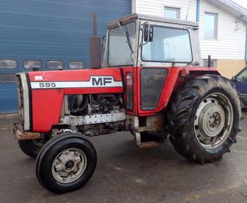 salg af Massey Ferguson 595 traktor
