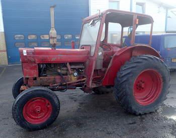 salg af Volvo 600 traktor