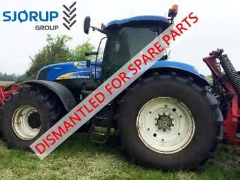 salg af New Holland T7070 traktor
