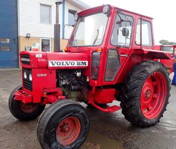 salg af Volvo 500 traktor