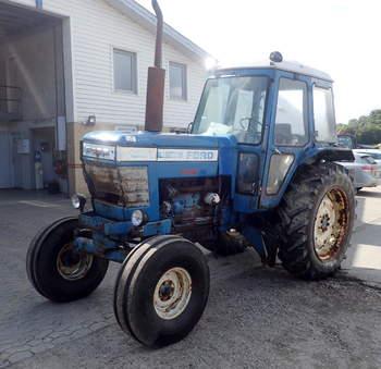 salg af Ford 6706 traktor