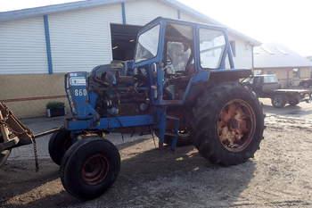 salg af Ford 8600 traktor
