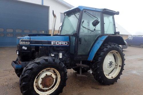 salg af Ford 6640 traktor