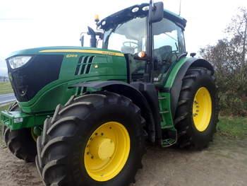 salg af John Deere 6.210R traktor