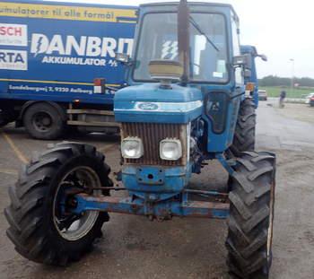 salg af Ford 7610 traktor