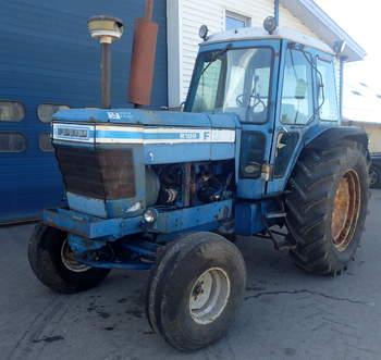 salg af Ford 8100 traktor