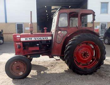 salg af Volvo T600 traktor