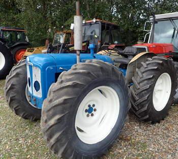 salg af Ford Major traktor