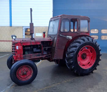 salg af Volvo BM 350 traktor