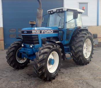 salg af Ford 8630 traktor