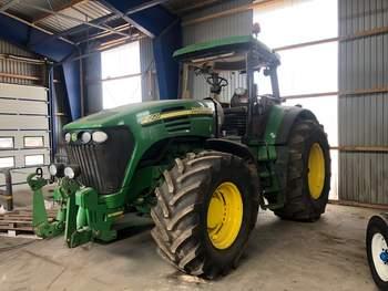 salg af John Deere 7920 traktor