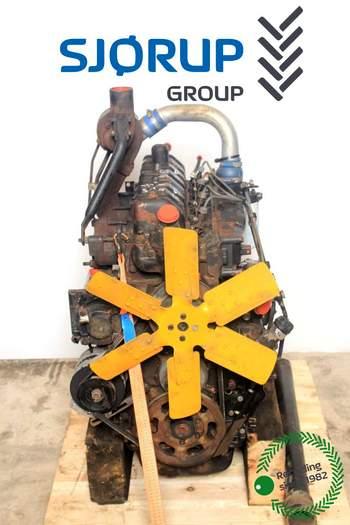 salg af Motor Valmet 665S - SISU 420D