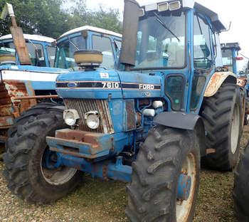 salg af Ford 7610 F II traktor