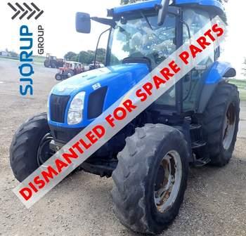 salg af New Holland T6010 traktor