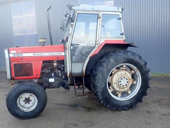salg af Massey Ferguson 390 traktor