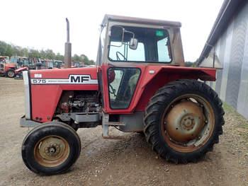 salg af Massey Ferguson 575 traktor