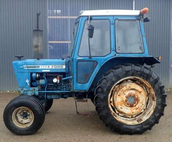 salg af Ford 6600 traktor