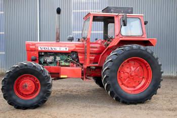salg af Volvo 814 traktor