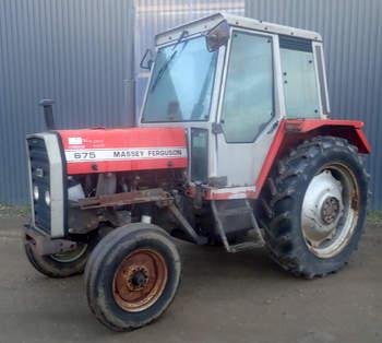 salg af Massey Ferguson 675 traktor