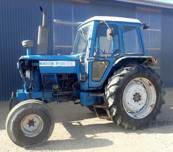 salg af Ford 7700 traktor