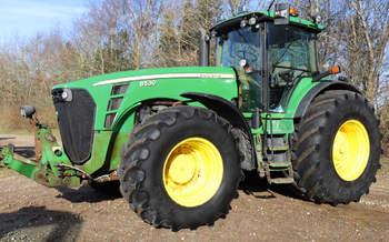 salg af John Deere 8530 traktor